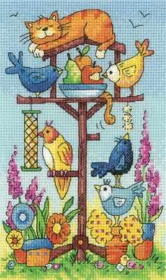 BFBT1361 Птичий обед - Наборы для вышивания «Heritage»