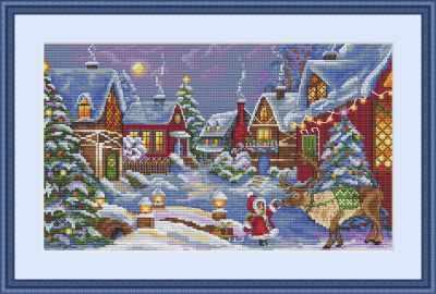 К-75 Рождественский гость (Мережка) - Наборы для вышивания «Мережка»