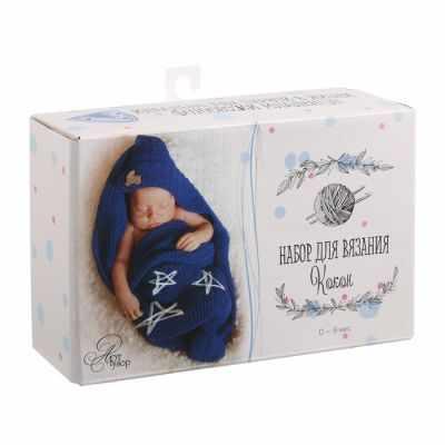 Набор для вязания Арт Узор 1822623 Набор для вязания: костюмы для новорожденных