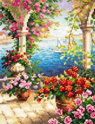 48-10 Цветочный бриз - Наборы для вышивания «Чудесная игла»