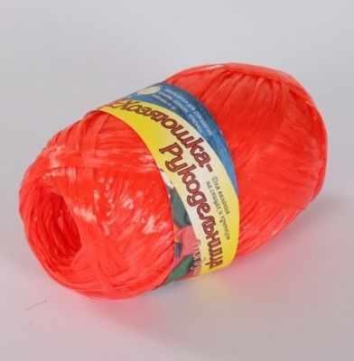 Пряжа Хозяюшка-рукодельница Для души и душа Цвет. Красный