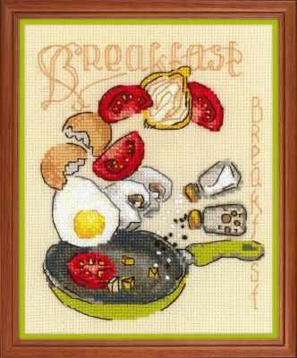 1684  Завтрак  - Наборы для вышивания «Риолис»
