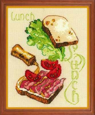 1685  Ланч  - Наборы для вышивания «Риолис»
