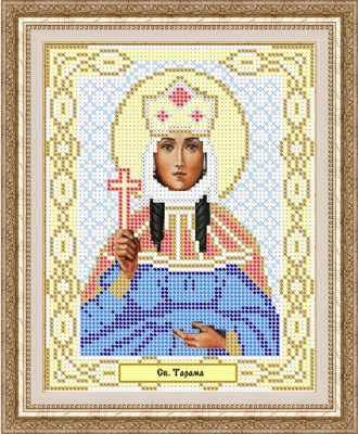Основа для вышивания с нанесенным рисунком Матрёшкина КАЮ1045 Св. Тамара