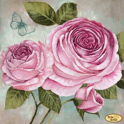 Купить со скидкой ТА-347 - Винтажная роза - схема (Tela Artis)