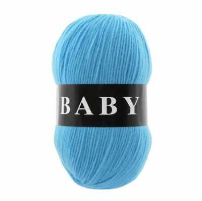Пряжа VITA Пряжа VITA Baby Цвет.2876 Голубая бирюза