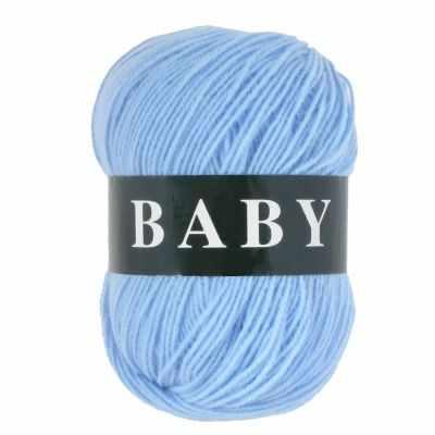Пряжа VITA Пряжа VITA Baby Цвет.2882 Светло-голубой