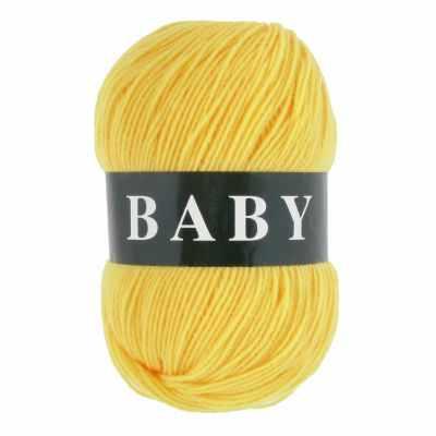 Пряжа VITA Пряжа VITA Baby Цвет.2884 Желтый
