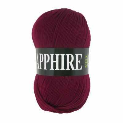 Пряжа VITA Пряжа VITA Sapphire Цвет.1519 Бордовый