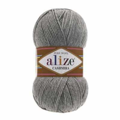 Пряжа Alize Пряжа Alize Cashmira Цвет.21 серый меланж