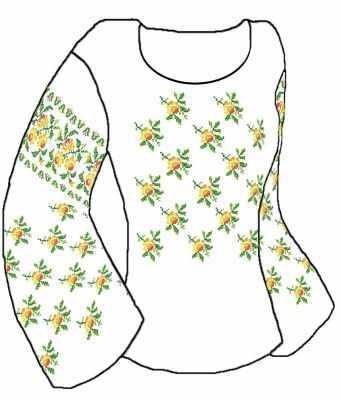Купить со скидкой КБСН/хб/-02 Набор для вышивания сорочки (Каролинка)