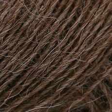 Пряжа Seam Alpaca de Italia Цвет.0612 Коричневый
