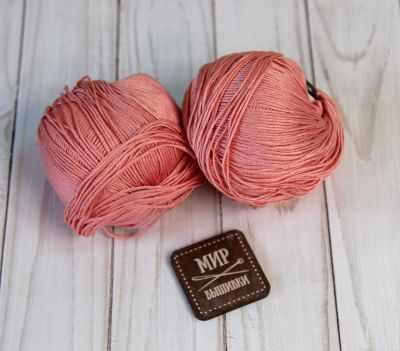 Пряжа Seam Пряжа Seam Premium Silk Цвет.21 Коралл