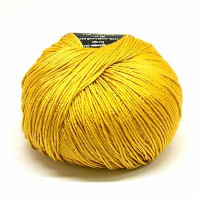Пряжа Seam Пряжа Seam Premium Silk Цвет.19 золотой горчичный