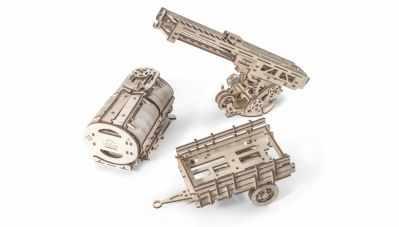 70019 3D-пазл механический - Дополнение к грузовику