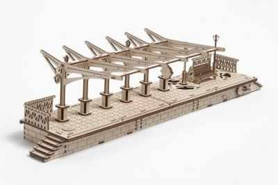 70013 3D-пазл механический - Перрон