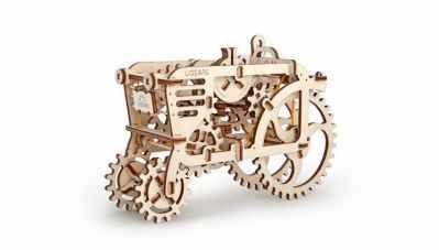 Набор из фанеры Ugears 70003 3D-пазл механический - Трактор конструктор ugears 3d пазл грузовик ugm11