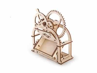 Набор из фанеры Ugears 70001 3D-пазл механический - Шкатулка