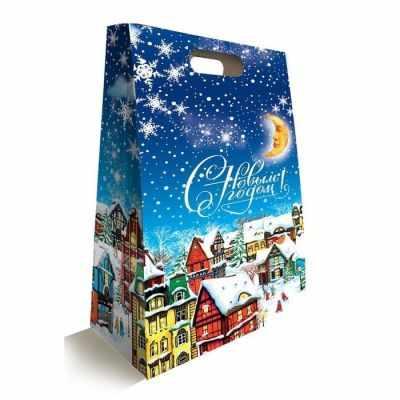 Подарочная коробка - 2734024 Подарочная коробка Городок подарочная коробка 2353309 коробка подарочная чудес в новом году