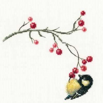 Фото - Набор для вышивания РТО C273 - Осенние ягоды набор для вышивания acufactum осенние
