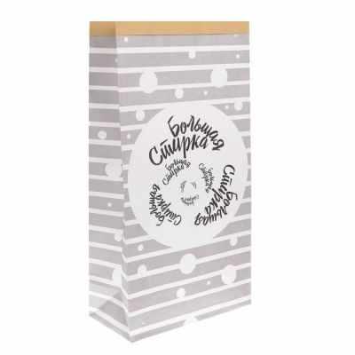Подарочный конверт Арт Узор 1999193 Пакет крафтовый Большая стирка