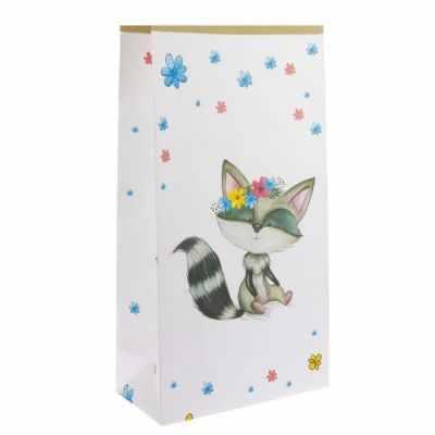Подарочный конверт Арт Узор 1999197 Пакет крафтовый Зверята