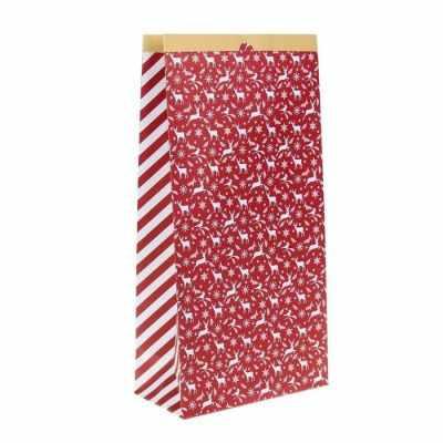 Подарочный конверт Арт Узор 2391203 Пакет крафтовый Яркий праздник