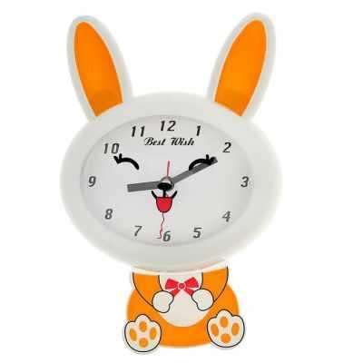 1716977 Часы настенные детские Зайка-улыбайка