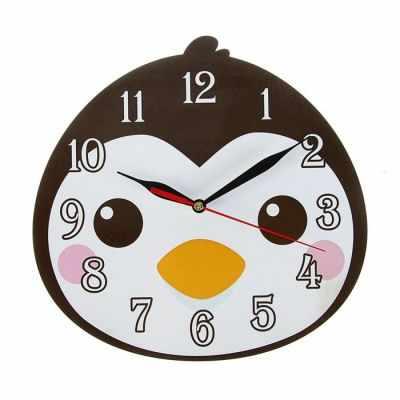 2497896 Часы Пингвин детские, фигурные