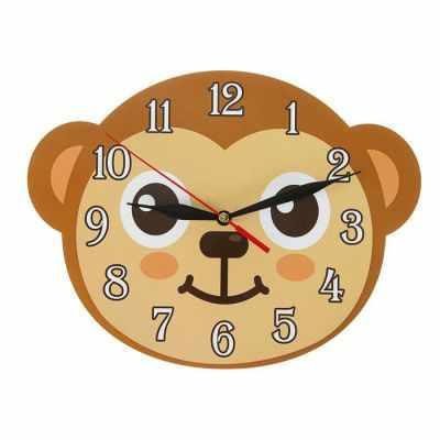 2497897 Часы Обезъянка детские, фигурные