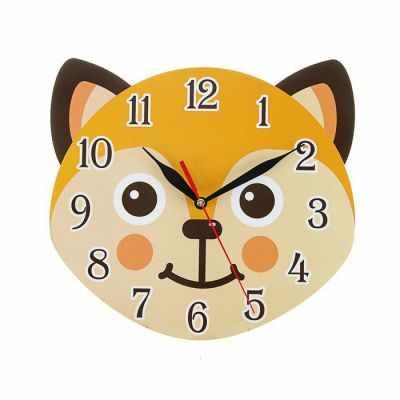 2497900 Часы Лисенок детские, фигурные