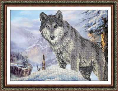Б1472 Волк (Паутинка) - Наборы для вышивания «Паутинка»