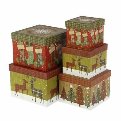 2949908 Набор коробок 5 в 1 - Подарочные коробки