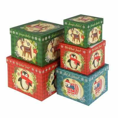2949912 Набор коробок 5 в 1 - Подарочные коробки