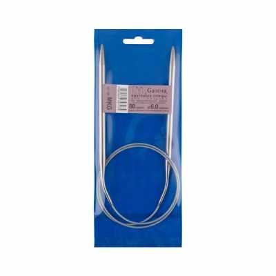 Инструмент для вязания Gamma MKG 6,0 мм Спицы круговые