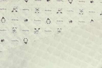Плюшевая ткань Китай Ткань пледовая-мех цв.белый (50*90 см)