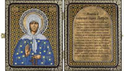СА 7105 Св. Прав. старица Матрона Московская