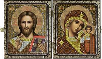 СА 7200 Христос Спаситель и Пресв.Богородица Казанская