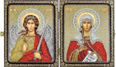 Купить со скидкой СА 7306 Св. Мц. Татьяна (Татиана) Римская и Ангел Хранитель