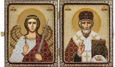 Купить со скидкой СЕ 7201 Николай Чудотворец и Ангел Хранитель