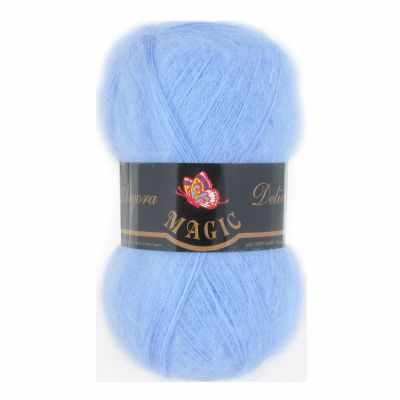 Пряжа Magic Пряжа Magic Angora Delicate Цвет.1117 Светло-голубой