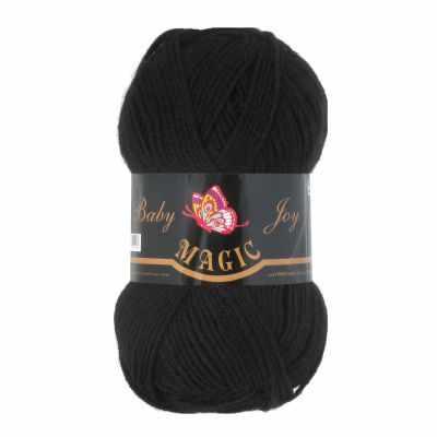 Пряжа Magic Пряжа Magic Baby Joy Цвет.5702 Черный