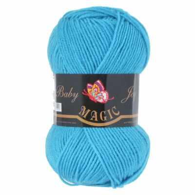 Пряжа Magic Пряжа Magic Baby Joy Цвет.5708 Голубая бирюза