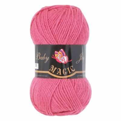 Пряжа Magic Пряжа Magic Baby Joy Цвет.5716 Ярко-розовый