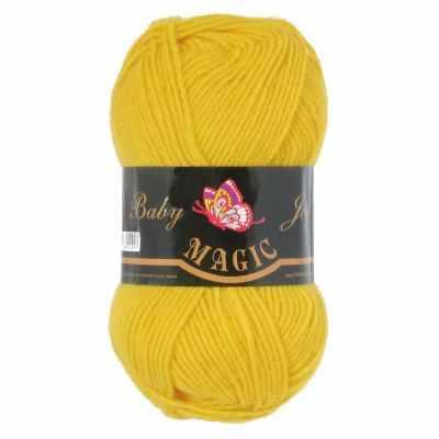 Пряжа Magic Пряжа Magic Baby Joy Цвет.5721 Желтый