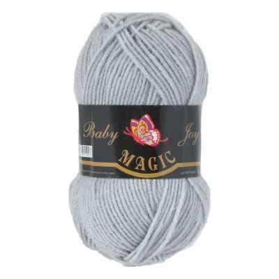 Пряжа Magic Пряжа Magic Baby Joy Цвет.5723 Светло-серый