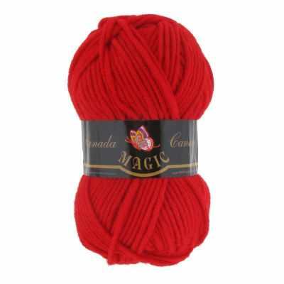 Пряжа Magic Пряжа Magic Canada Цвет.3718 Красный