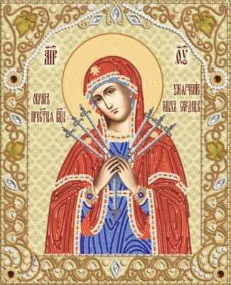 РИК-3-031 Икона Божией Матери Умягчение злых сердец - схема (Марiчка)