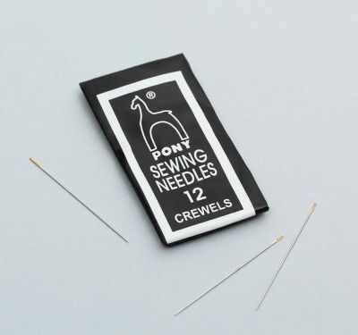 1357948 Иглы швейные для вышивания и бисера №12