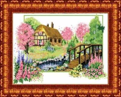 КТКН 118 (р) Весеннее цветение набор (Каролинка) - Наборы для вышивания «Каролинка»